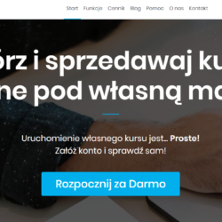 platforma do kursów online Simple LMS